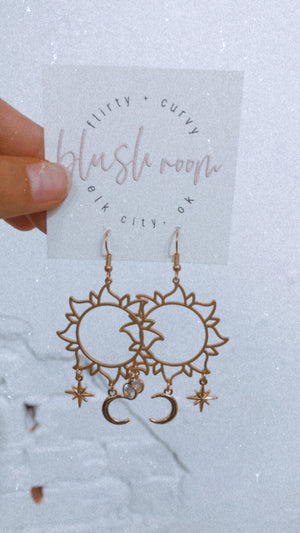 Celestial Outline Earrings