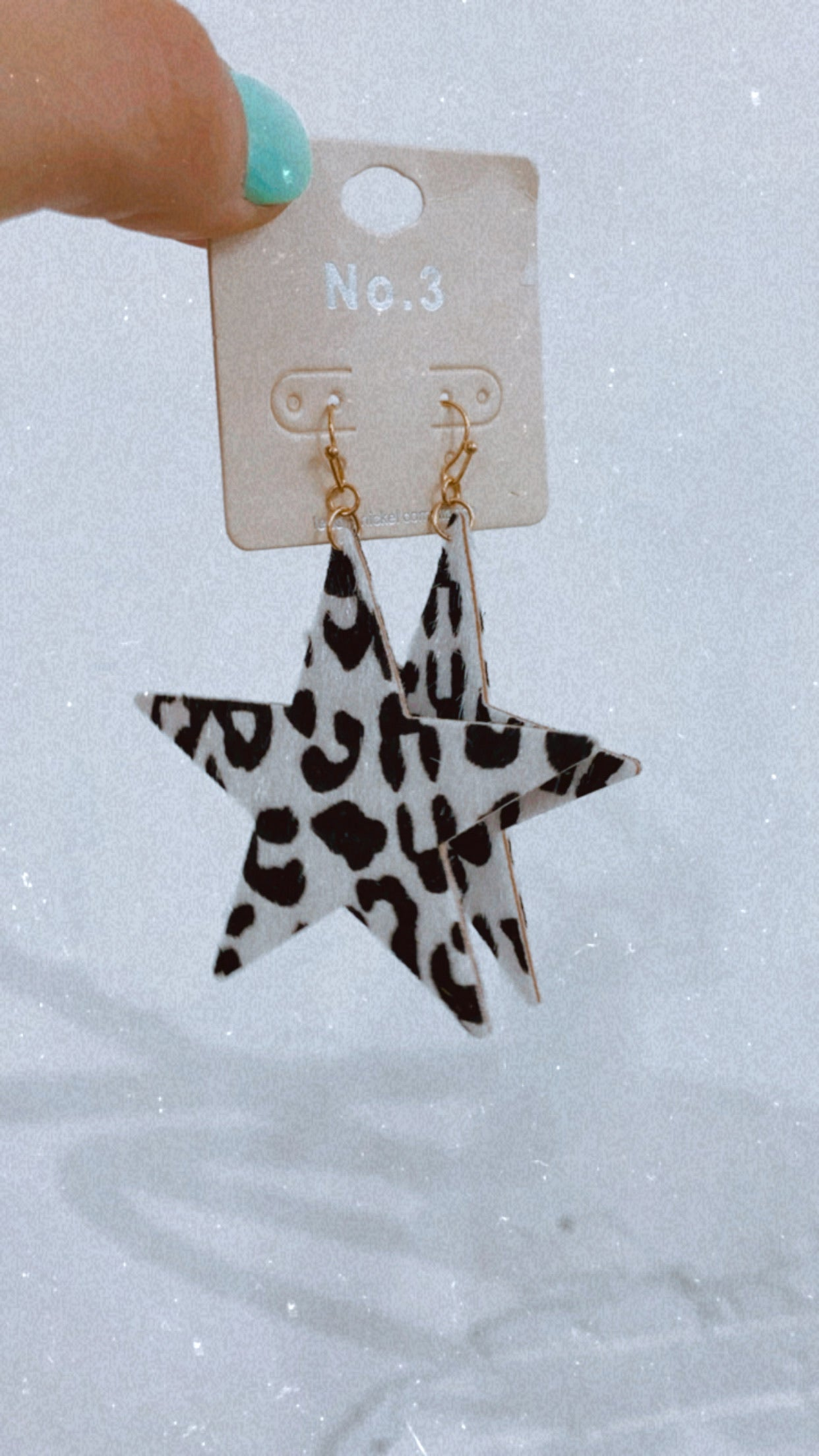 Leo Star Earrings