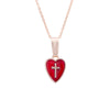 Red Heart Cross