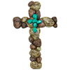 Inspirational Pebble Wall Cross