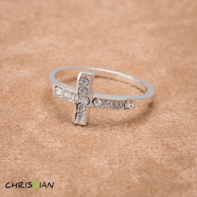 Ladies Cross Rings