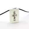Rectangle White Floating Anchor Cross - Handmade