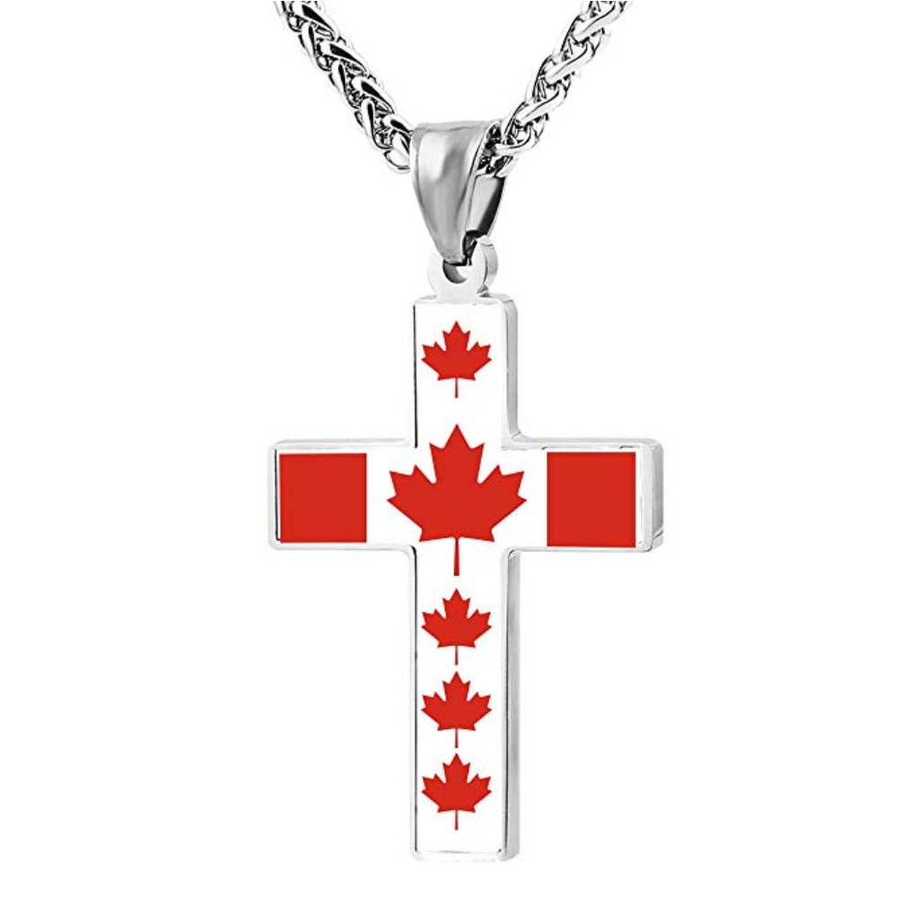 Maple Leaf Cross