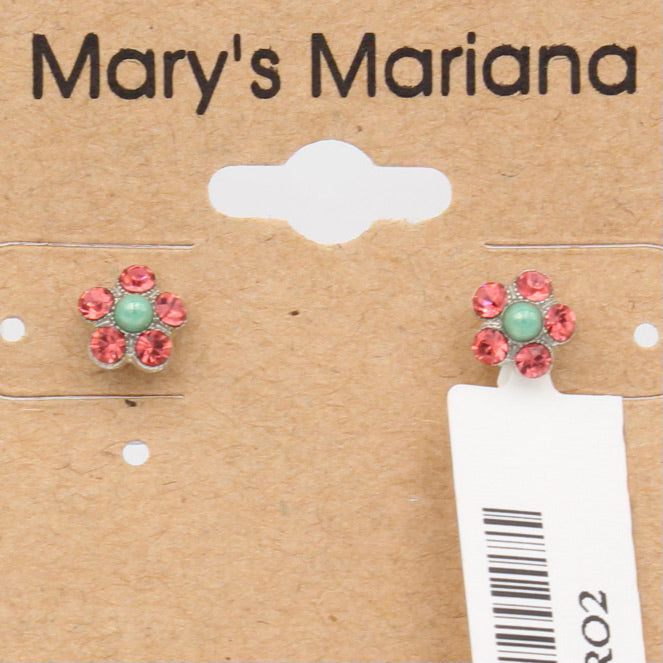 Peachy Keen Collection Small Flower earrings *POSTS*