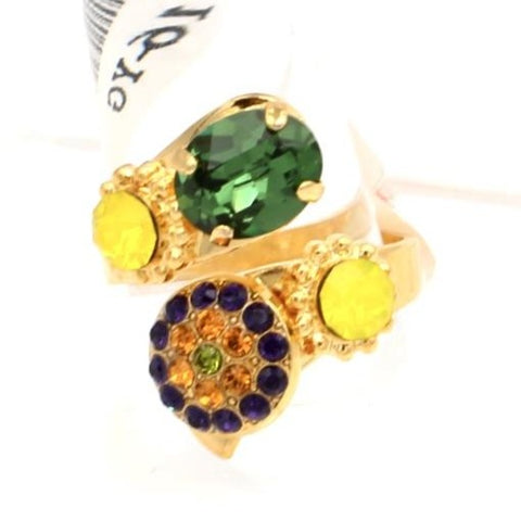 Holiday Lights Collection Wrap Ring in Gold