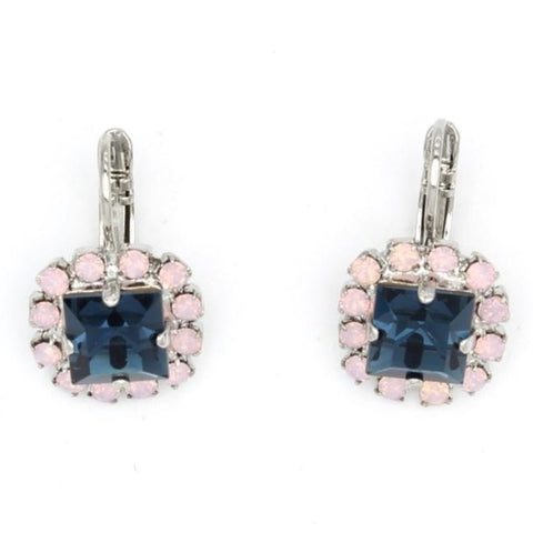 Blue Morpho Collection Square Earrings