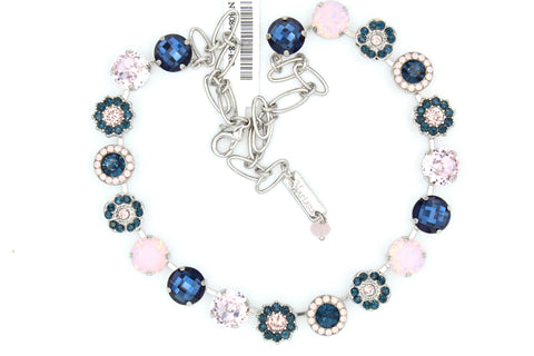 Blue Morpho Collection Lovable Crystal Necklace