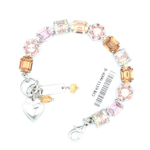Meadow Brown Collection Rectangular Crystal Bracelet