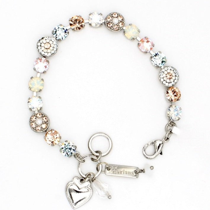 Sweet Pea Collection Ornate Crystal Bracelet