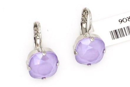 Lilac Lovable 12MM Square Earrings