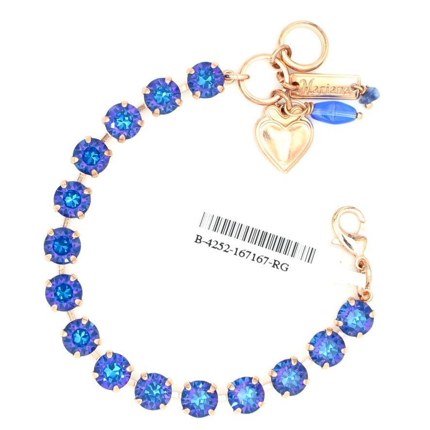 Capri Sunkissed Must Have Crystal Bracelet in Rose Gold