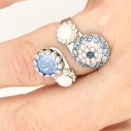 Blue Morpho Collection Wrap Ring