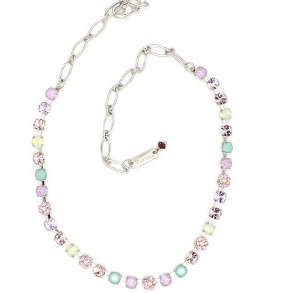 Lavender Collection 6MM Petite Crystal  Necklace