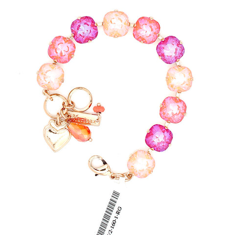 Mary's Mariana Exclusive Sparkeltini 12MM Crystal Bracelet in Rose Gold