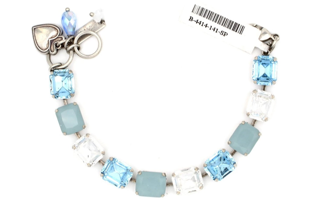 Italian Ice Rectangular Crystal Bracelet