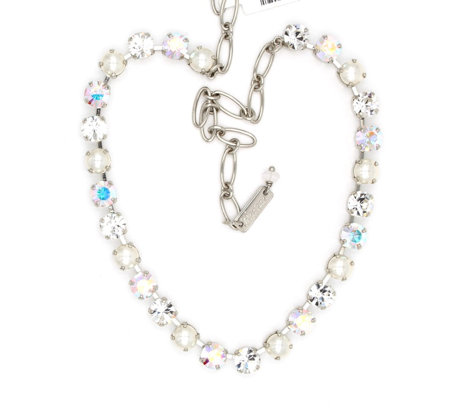 Crystal Pearls Collection Necklace