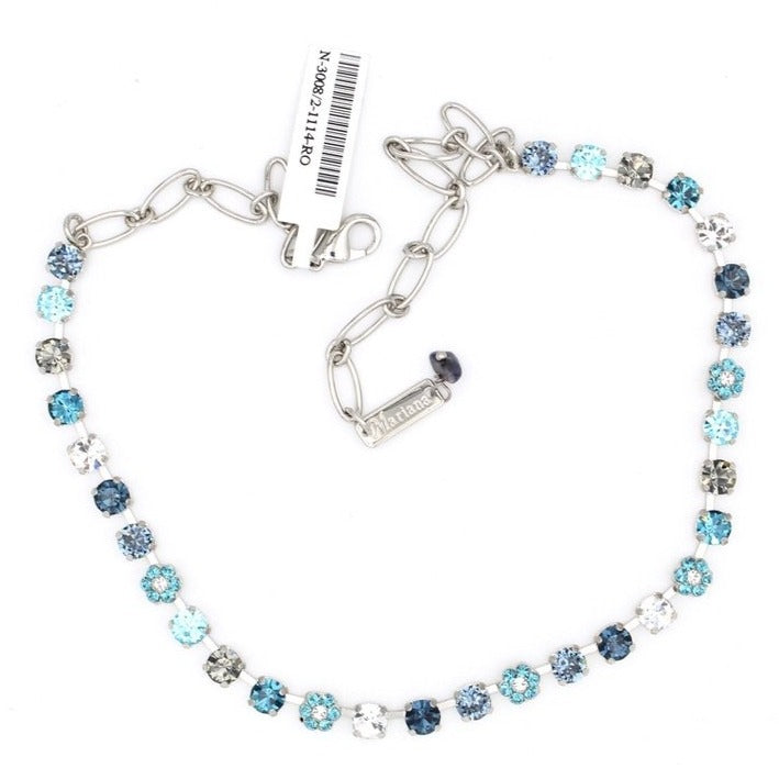 Frost Collection 6MM Crystal Necklace
