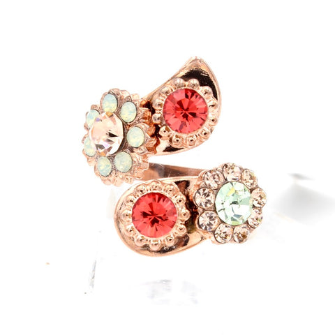 Stunning Peachy Keen Collection Wrap Ring in Rose Gold