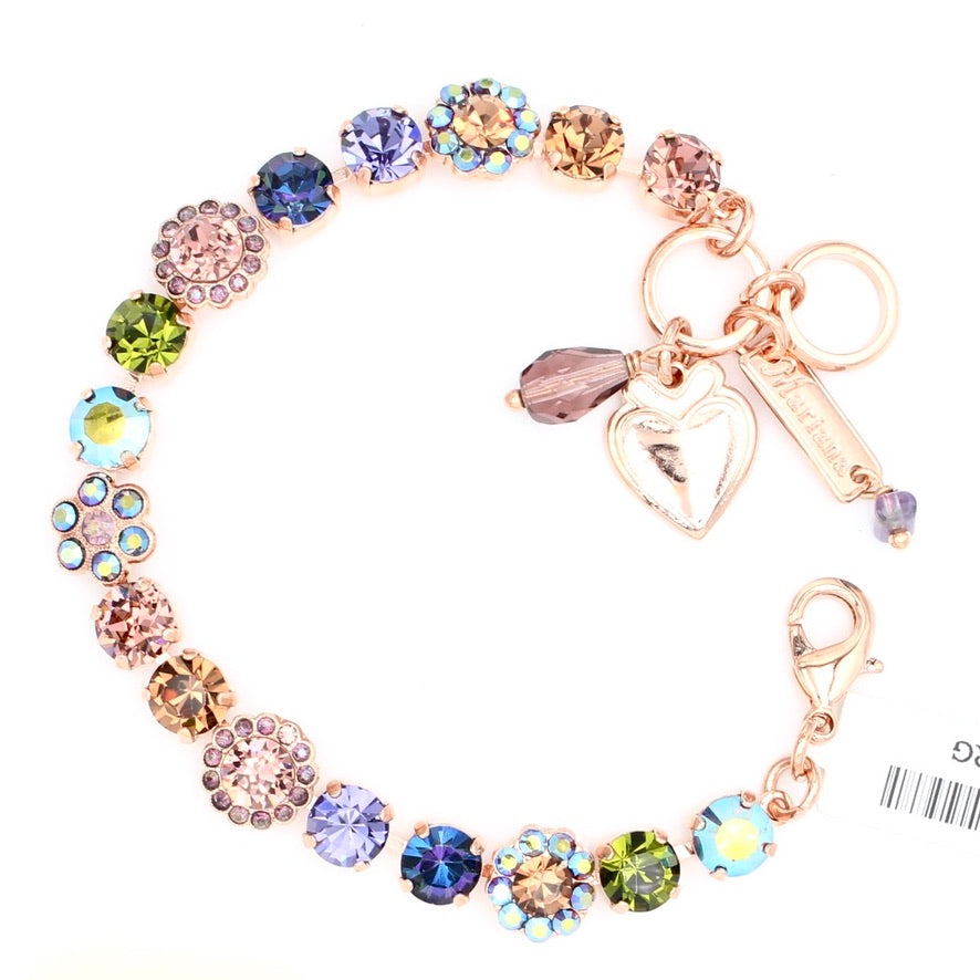 Penelope Collection Must Have Flower Bracelet in Rose Gold