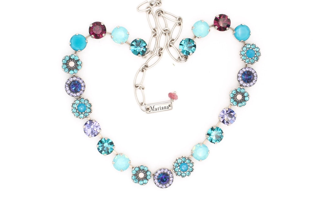 Peacock Collection Lovable Classic Crystal Necklace