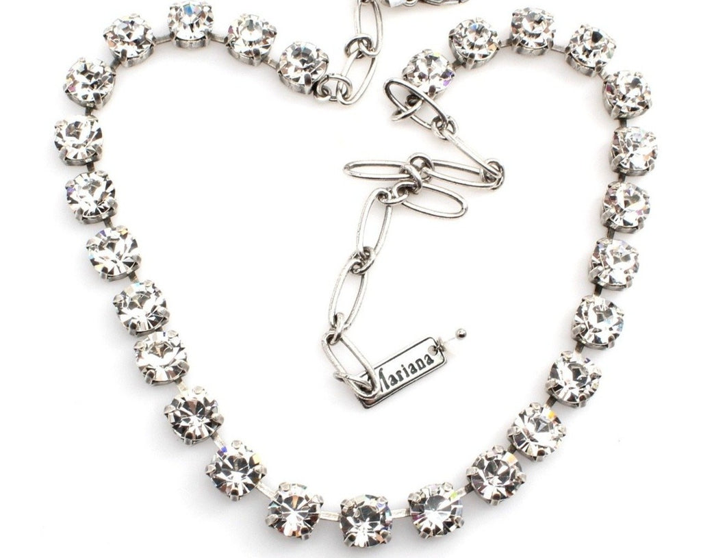 Clear Sparkly Must Have Crystal Necklace