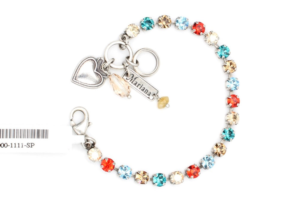 Tinsel Collection Petite Crystal Bracelet