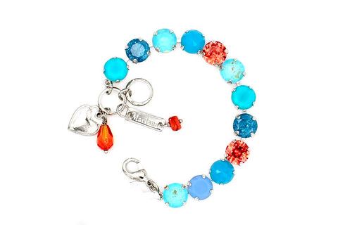 Bird of Paradise Collection 10MM Crystal Bracelet