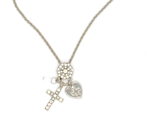 Bermuda Collection Cross Charm Necklace