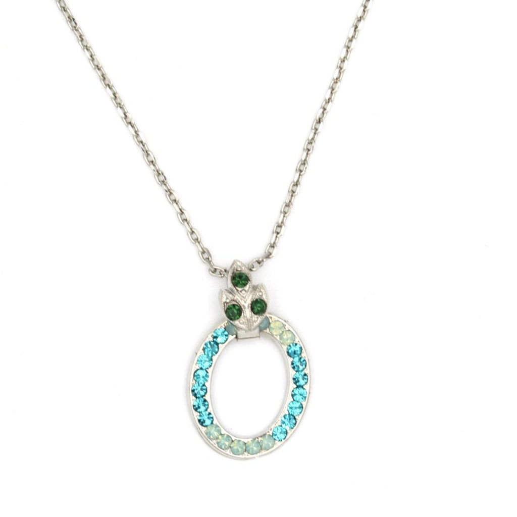 Ivy Collection Oval Pendant