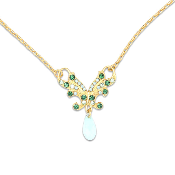 Ivy Collection Pendant Necklace in Yellow Gold