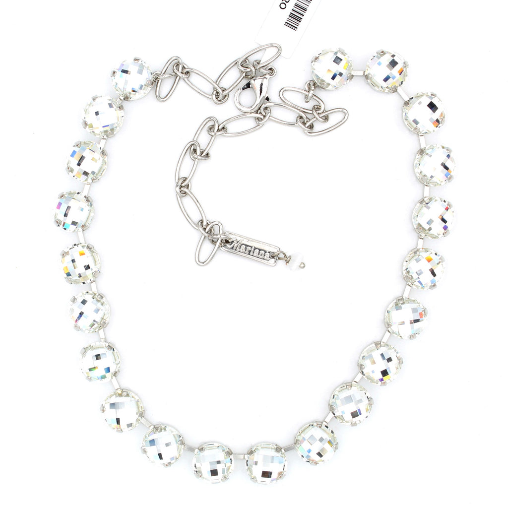 Clear Checkerboard Lovable Necklace