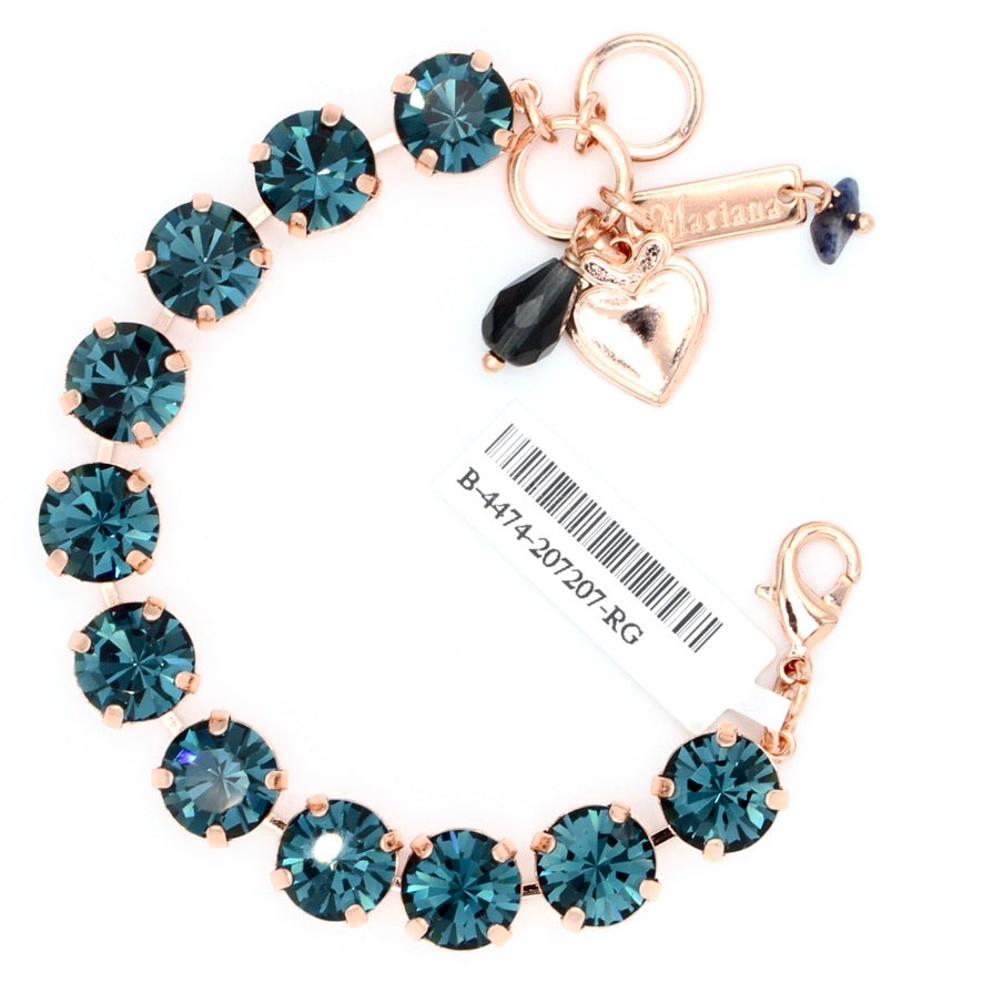 Montana Blue Lovable Bracelet in Rose Gold