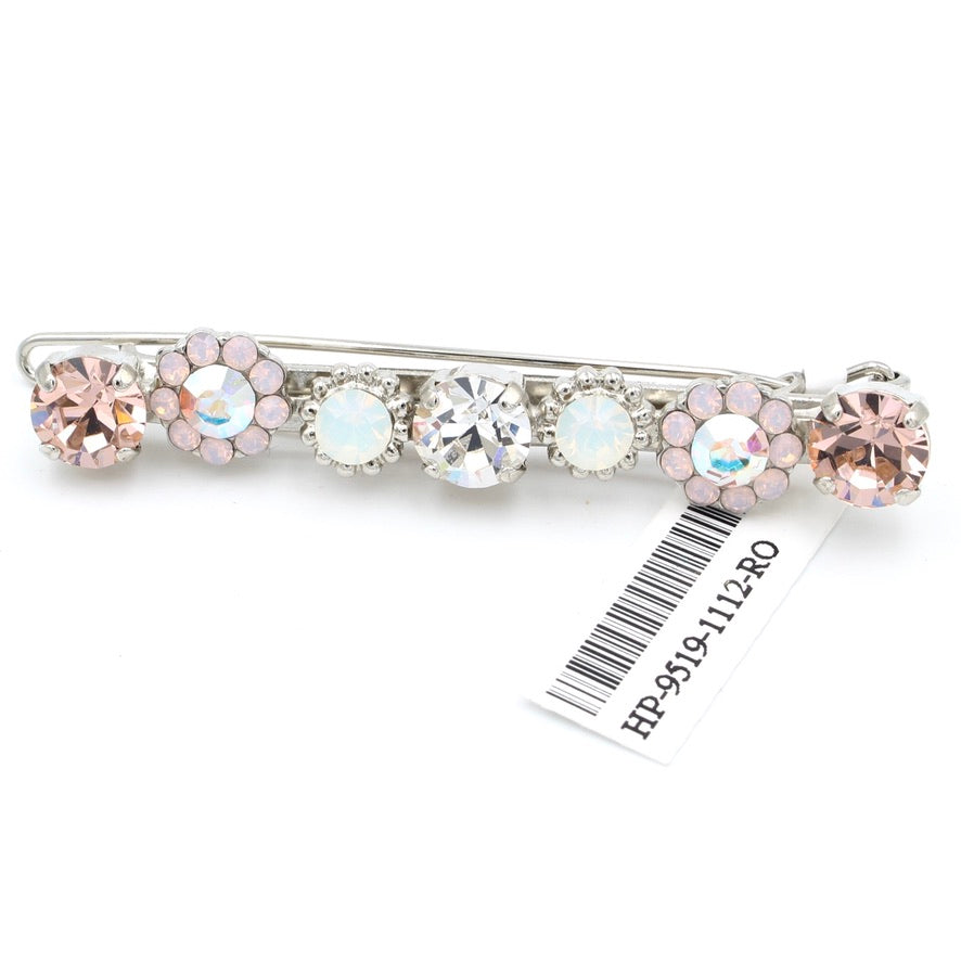 Snowflake Collection Crystal Barrette
