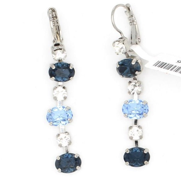 Night Sky Collection Six Crystal Dangle Earrings