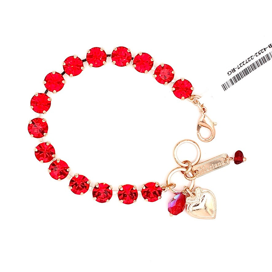 Light Siam Must Have Crystal Bracelet in Rose Gold