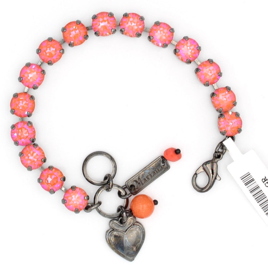 Sunset Sunkissed Must Have Crystal Bracelet in Gray