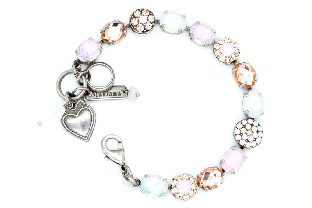 Afternoon Delight Oval and Round Crystal Bracelet