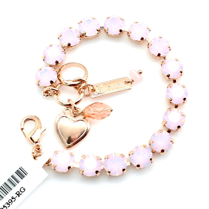 Rosewater Opal Must Have Crystal Bracelet in Rose Gold