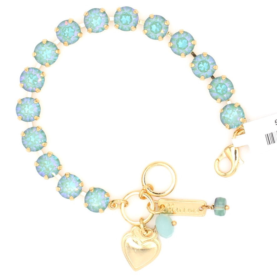 Jade Sunkissed Must Have Crystal Bracelet in Yellow Gold