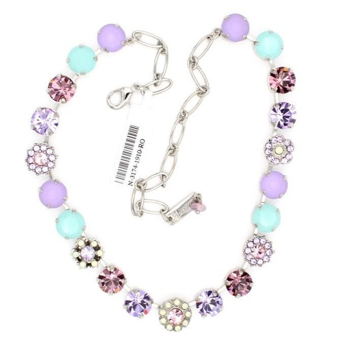 Lavender Collection 10MM  Crystal Necklace