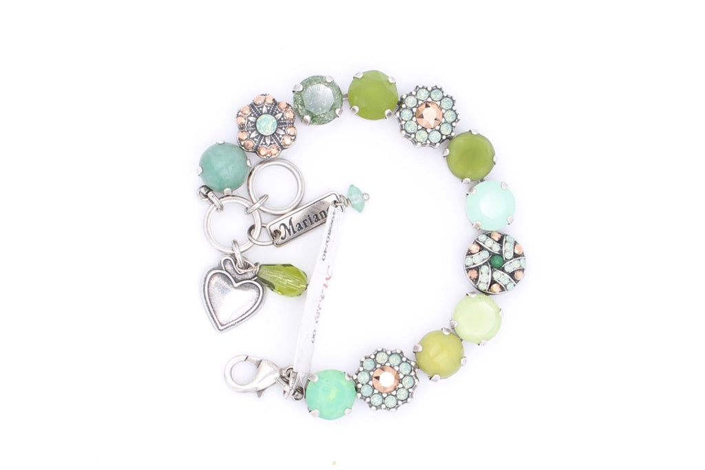 Evergreen Collection Large Crystal Bracelet