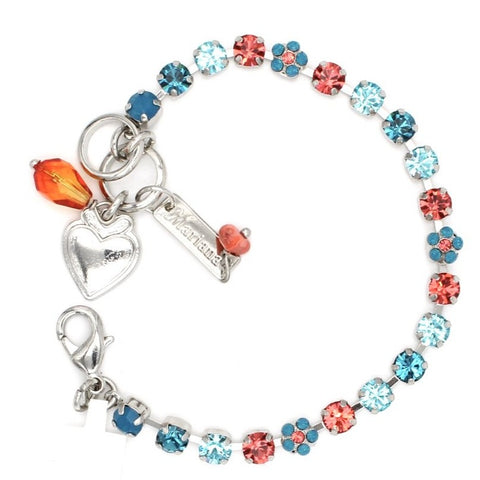 Bird of Paradise Collection Petite Crystal Flower Bracelet