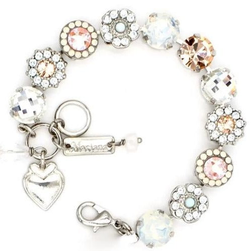 Sweet Pea Collection Large Crystal Bracelet