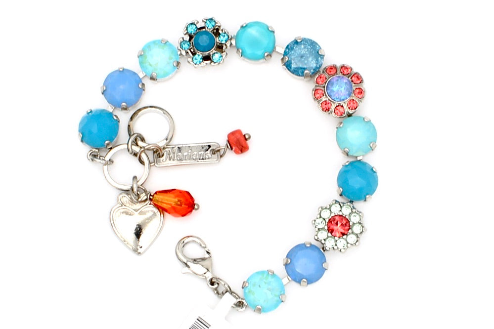 Bird of Paradise Collection Lovable Crystal Bracelet