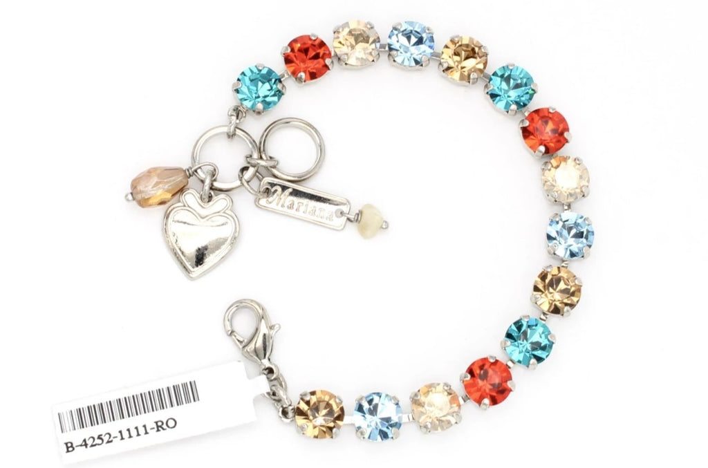 Tinsel Collection Medium Crystal Bracelet