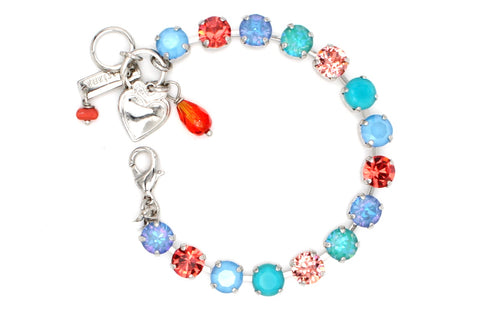 Bird of Paradise Collection Medium Crystal Bracelet
