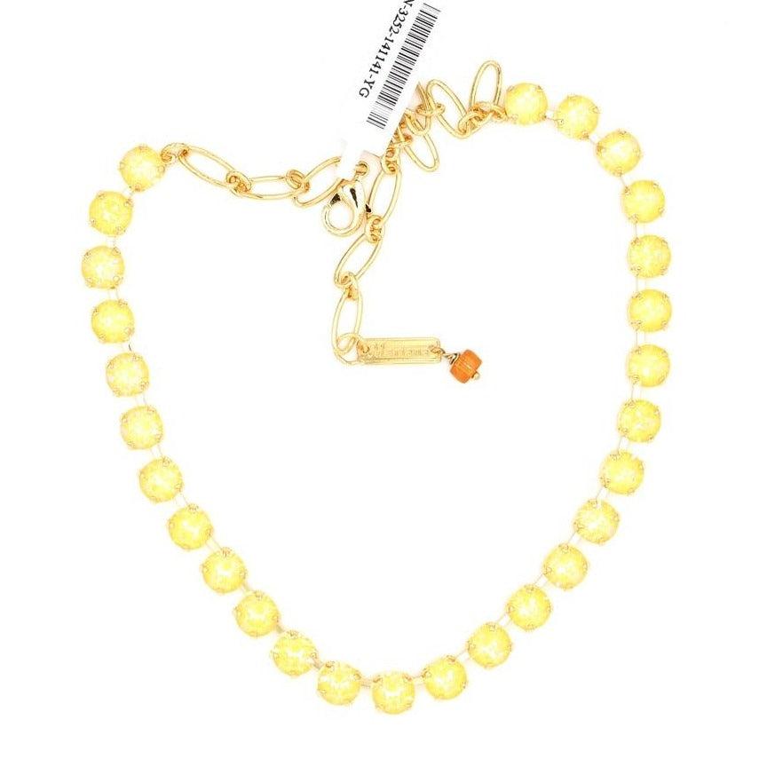 Sunshine Sunkissed Medium Crystal Necklace in Gold