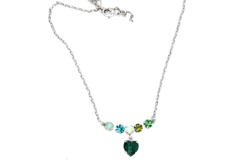 Ivy Collection Heart Pendant Necklace
