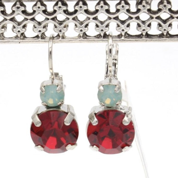Dynasty Collection Double Crystal Earrings