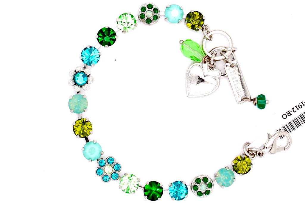 Ivy Collection 7MM Crystal Flower Bracelet